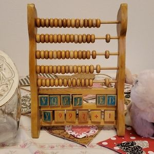Vintage Child's Abacus 🧮
